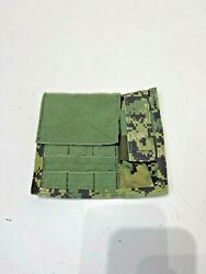 Eagle Industries New Aor2 Admin Pouch W/ Flashlight Holder Maritime Soflcs Molle