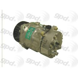 7512145 Gpd A/c Ac Compressor New For Vw With Clutch Volkswagen Eurovan 00-03