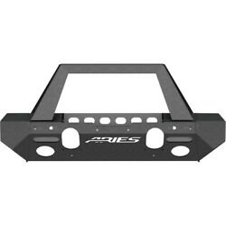 2082055 Aries Bumper Face Bar Front New For Jeep Wrangler Jk 2018