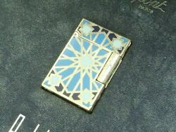 S.t.dupont Gas Lighter Andalusia Gatsby 3 000 Pieces In The World Limited
