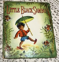 1950 Little Sambo Illustrated By Suzanne, Tell-a-tale Book, Whitman, Black