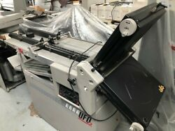 Morgana Ufo2 High Speed Paper Folder - 2 Plate Suction Fed