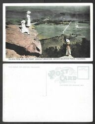 Old Colorado Postcard Golden from Wild Cat Point