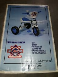 New York Mets Tricycle 25th Anniversary Vintage 1986 Mlb New Incredibly Rare