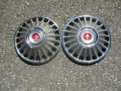 Genuine 1967 Ford Mustang 14 Inch Hubcaps Wheel Covers