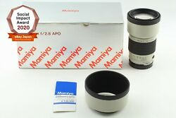 [top Mint Box] Mamiya Apo 200mm F2.8 A Telephoto Lens For 645 From Japan 2222