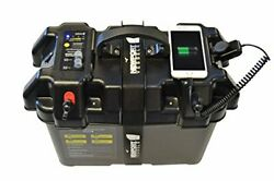 Newport Vessels Trolling Motor Smart Battery Box Power Center With Usb And Dc Po