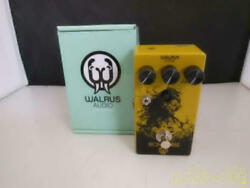 Walrus Audio Iron Horse Distortion Guitar Effect Pedal From Japan Good Condition