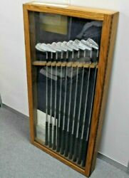 Ben Hogan Personal Limited Edition Display Set 2-sw Calf Leather Grips Rrp £1899