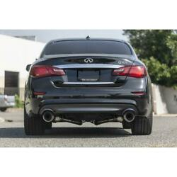 Ark Performance Grip Catback Exhaust Polished Tips For 2011+ Infiniti M37/q70
