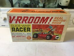 Mattel Vrroom Vroom Indy Race Car Tether Yellow