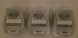 NEW LOT OF 3 SCENTSY BARS quot;MY DEAR WATSONquot; 3.2 FL OZ. EACH BAR AWESOME