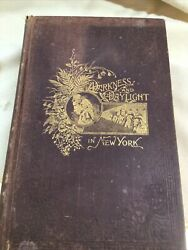 1898 Darkness And Daylight Or Lights And Shadows Of New York Life -women's Temp