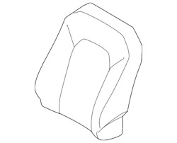 Genuine Ford Seat Back Cover Gl3z-1664416-be