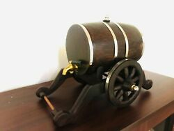 Wine Barrel Wooden Handy Craft Tap Mini Kithul Wine Pipe Antique Collectibles
