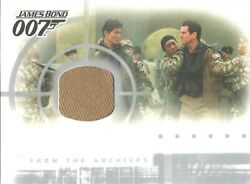 James Bond Die Another Day - Ac1 Case Topper Costume Card Light Brown