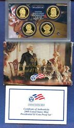 2008 S Presidential Dollar Proof Sets Lot Us Mint Boxes 3 Sets