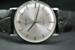 Mans Vintage Rolex Precision Watch 9826 Stainless 1960and039s