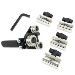 Tgr Brake Line Tubing Bender 3/16, 1/4 Inch With 4 Duplicating Tube Clamps
