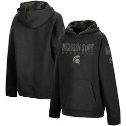 Michigan State Spartans Colosseum Youth Operation Hat Trick Military