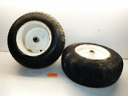 Case/ingersoll 224 444 448 446 Tractor Carlsile 16x6.50-8 Front Tires And Rims