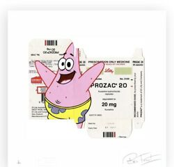 Ben Frost Patrick On Prozac Ap X/5 Sold Out With Coa