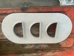 Factory Original Ford Tri Power Air Cleaner Base And Top- 390,406,427-nice Used