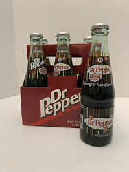 Org. 6 Pack Of Dublin Tx Dr. Pepper 8fl Oz Bottles With Imperial Pure Cane Sugar