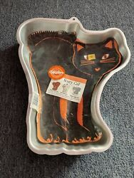 Wilton Vintage Collectible 1992 SCARY CAT HALLOWEEN Black Cat CAKE PAN NEW