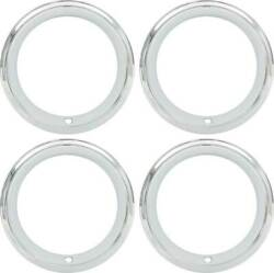 14 X 7 Trim Ring Set Aftermarket Style With Rally Wheels