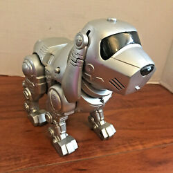 Vintage Tekno Puppy Motion Interactive Robot Dog Only Manley Toy Quest Works 90s