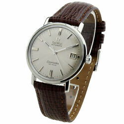 Omega Seamaster De Ville Stainless Steel Automatic Wristwatch Circa 1963
