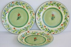 Gail Pittman Southern Living At Home Provence Dinner Plates 11 Set Of 3