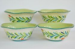 Gail Pittman Southern Living At Home Provence Cereal Soup Bowls Set Of 4