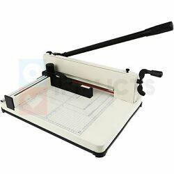 Paper Cutter Industrial Heavy Duty Guillotine Paper Trimmer 17 Inch 500 Sheets