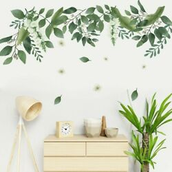 Removable Green Leaves Wall Stickers Nursery Decals Home Decor Art DIY