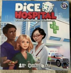 Dice Hospital Alley Cat Games Mixed Colours