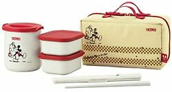 Thermal Lunch Box Bento Food Container Thermos X Disney Mickey Mouse F/s Wtrack