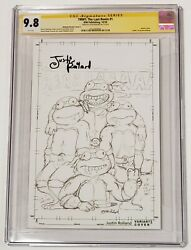 Tmnt The Last Ronin 1 Justin Roiland Signed Pencils Variant Rare Cgc Ss 9.8