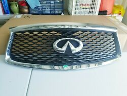 2016-2020 Infiniti Qx60 Front Grill With Camera Option Only Flaw Is 1 Tiny Crack