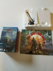 God Of War Mini Leviathan Axe 110 Scale Paperweight And God War Print 1965/2200