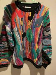 Vtg Coogi Cotton Knitted Unused With Tag Sweater Size M Australia / List No.1019