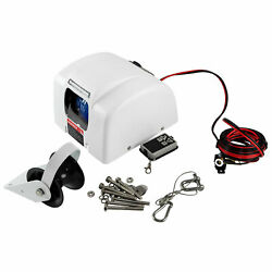 45 Lbs Marine Electric Anchor Winch Boat Parts With Wireless Remote Salt Water