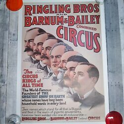 1960s Ringling Bros And Barnum And Bailey Poster