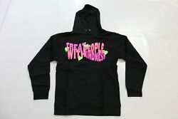 Harry Styles Adult Unisex Treat People With Kindness L/s Hoodie Jq2 Black Small