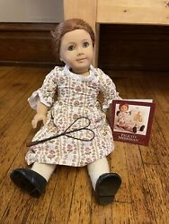 Pleasant Company American Girl Felicity In Original Meet Outfit And Box-retired