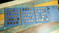 1938-1961 Jefferson Nickel Collection Book Number One 9009 51 Coins Book 921cb27