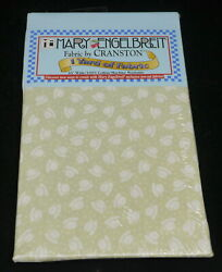 2001 Mary Engelbreit 1 Yard Of Fabric By Cranston, Teacup Pattern, Sealed, New
