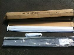 New Aande Dometic Trim Line 11and039 Bag Awning Charcoal In Color Popup Tent Camper Rv