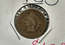 1859 Indian Head Liberty Wheat Cent Penny Coin Very Circulated 1st Year Of Issue
